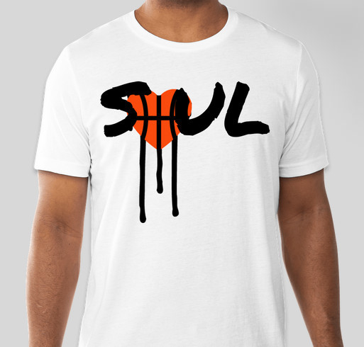 SOUL White Hoop Amour T-Shirt Fundraiser - unisex shirt design - small