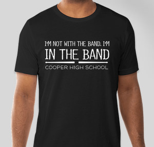 I'm in the band