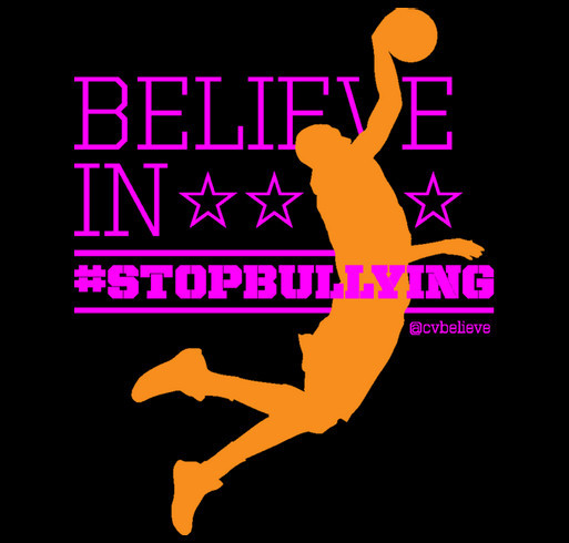 Unite Against Bullying with Charlie Villanueva shirt design - zoomed