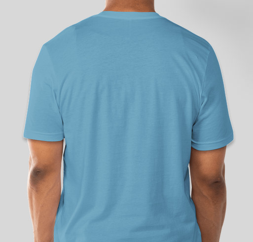 Presbytery Youth Shirt Fundraiser - unisex shirt design - back