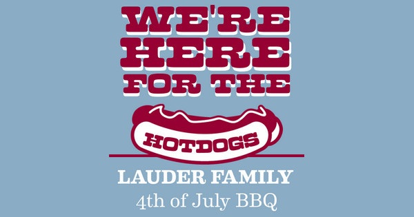 We're Here for the Hotdogs