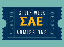 Greek Week Ticket
