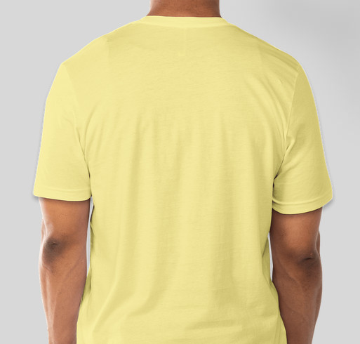 Juan Strong Fundraiser - unisex shirt design - back