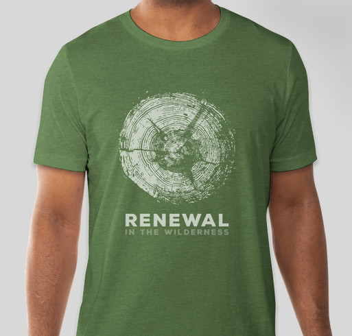Renewal in the Wilderness Fundraiser - unisex shirt design - front