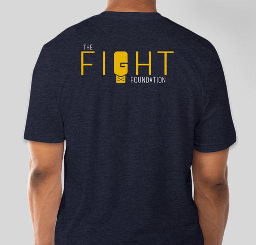 The Fight Foundation - September is Pediatric Cancer Awareness Month - JOIN THE FIGHT! Fundraiser - unisex shirt design - back