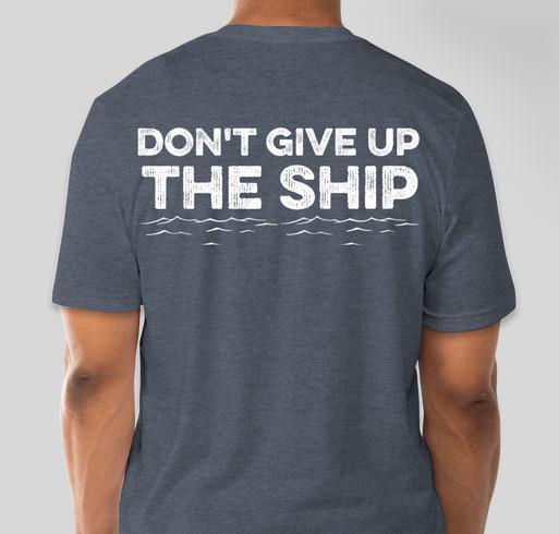Lake Erie Swimming Fundraiser - unisex shirt design - back