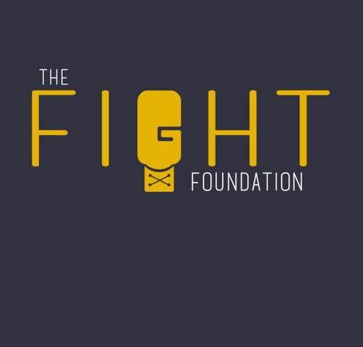 The Fight Foundation - September is Pediatric Cancer Awareness Month - JOIN THE FIGHT! shirt design - zoomed