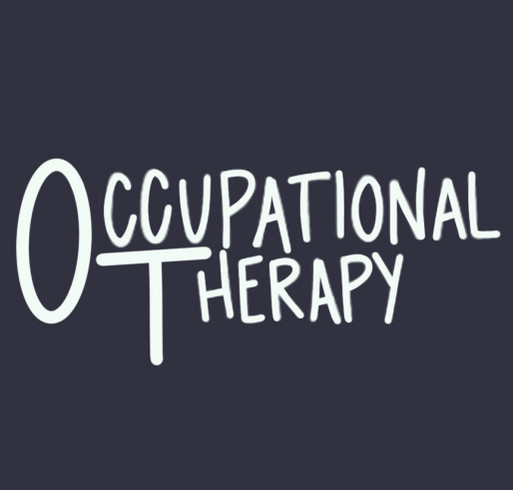 Student Occupational Therapy Association Fundraiser shirt design - zoomed