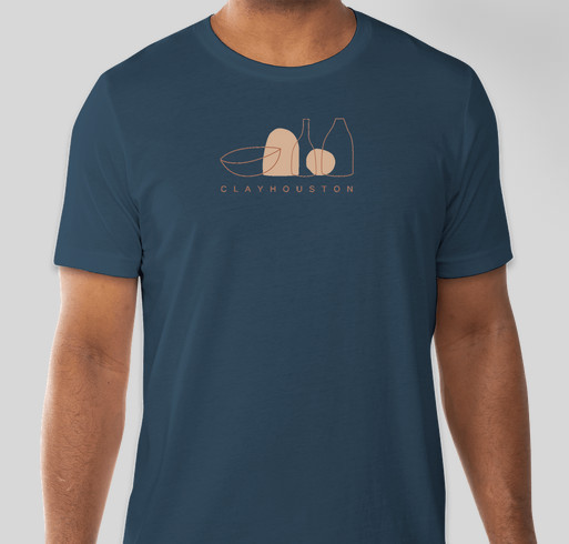 ClayHouston: Raising funds to support our Equity, Inclusion & Access Committee Fundraiser - unisex shirt design - front