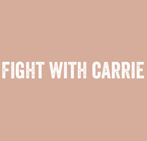 Fight With Carrie shirt design - zoomed