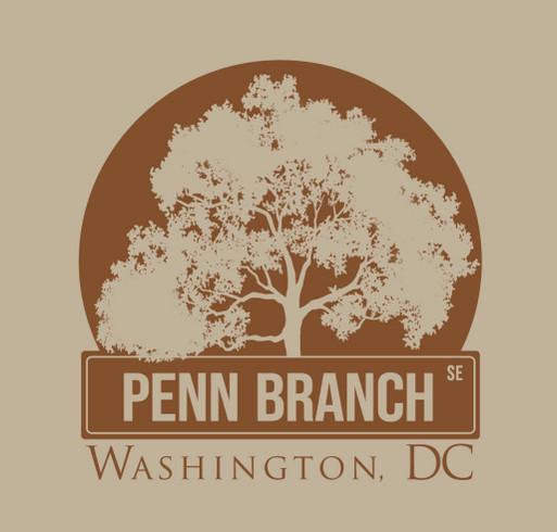 Penn Branch Community Association DC (PBCA) shirt design - zoomed