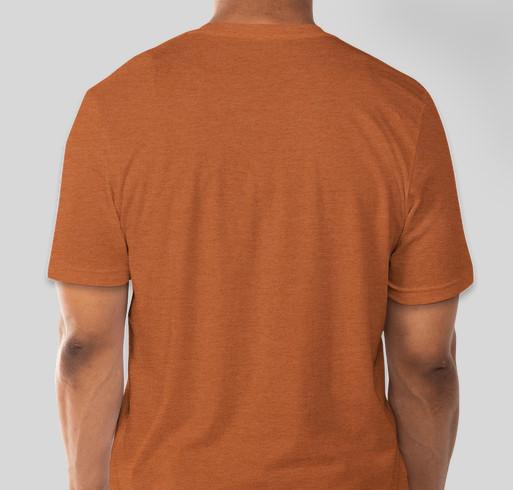 KBOO Soul & Hip Hop Marathon Limited Edition T-shirt Fundraiser - unisex shirt design - back