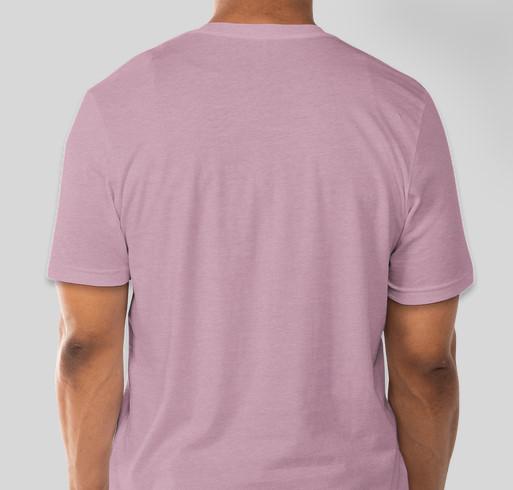 Heart and Soles Breast Cancer Awareness Walk Fundraiser - unisex shirt design - back