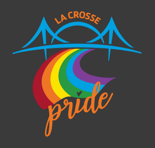 La Crosse Pride Apparel shirt design - zoomed