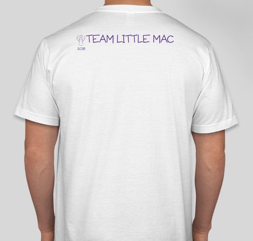 Team Little Mac Fundraiser - unisex shirt design - back