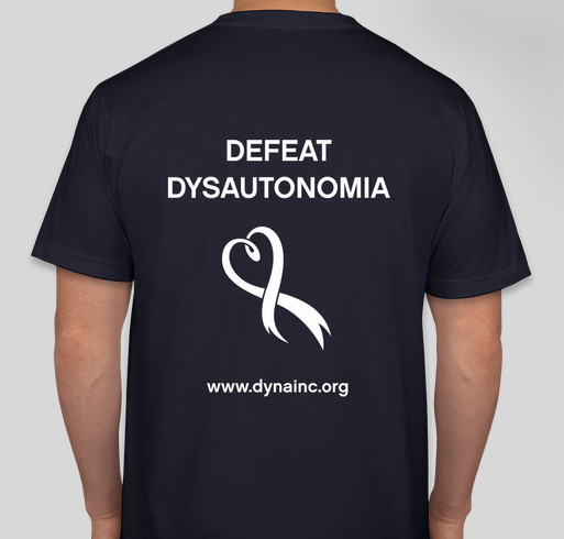 2016 Dysautonomia Awareness Month Fundraiser Fundraiser - unisex shirt design - back