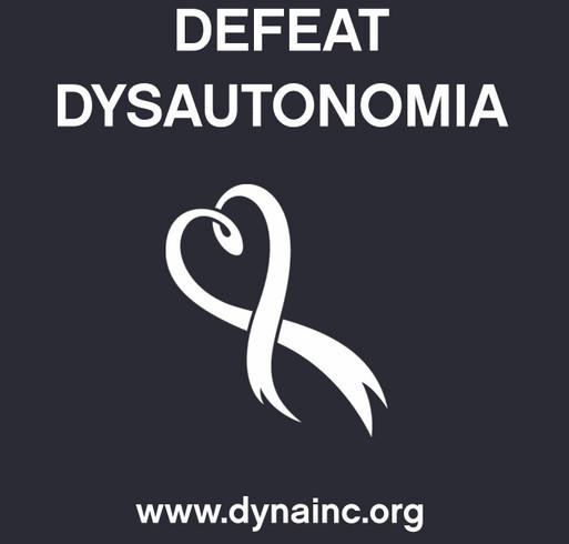 2016 Dysautonomia Awareness Month Fundraiser shirt design - zoomed