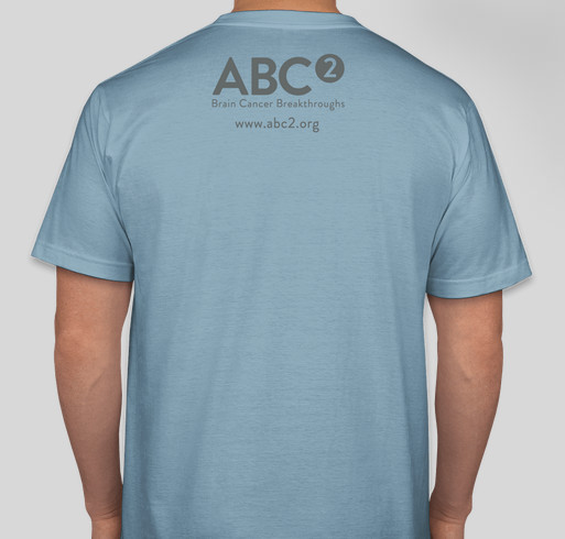 Go Gray in May with ABC2 Fundraiser - unisex shirt design - back