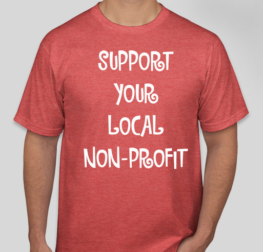 Support your local non profit aro fundraiser custom ink for Non profit t shirt fundraiser