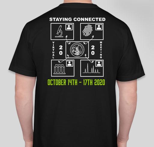NEAFS 2020 Virtual Annual Meeting Fundraiser - unisex shirt design - back