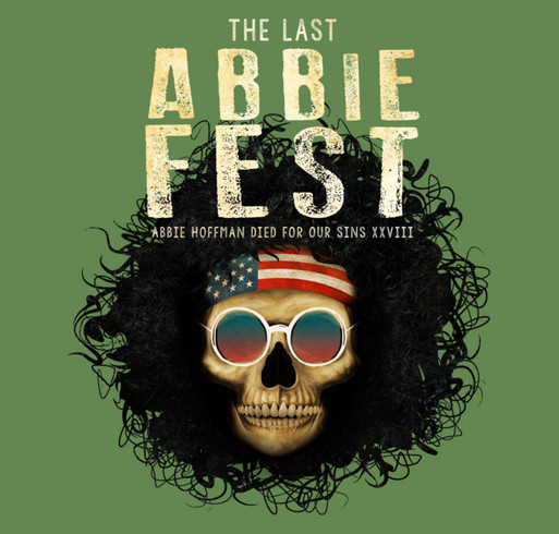 Official Abbie Fest XXVIII T-shirt shirt design - zoomed