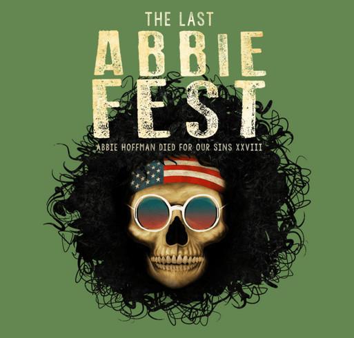 Official Abbie Fest XXVIII T-shirt shirt design - zoomed