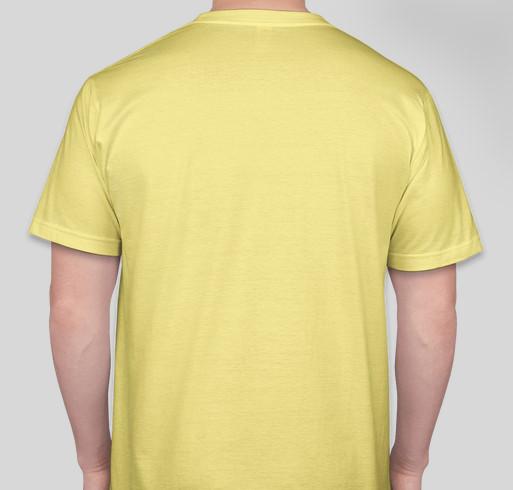 The Many Names of BOOKS Fundraiser - unisex shirt design - back