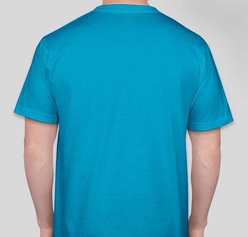 Pitt Hopkins Syndrome Awareness Day T-Shirt Fundraiser Fundraiser - unisex shirt design - back