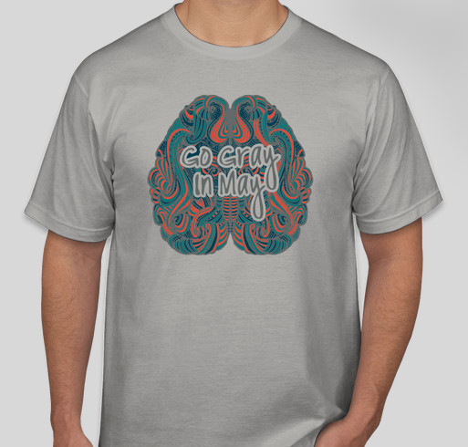 Go Gray in May with ABC2 Fundraiser - unisex shirt design - front