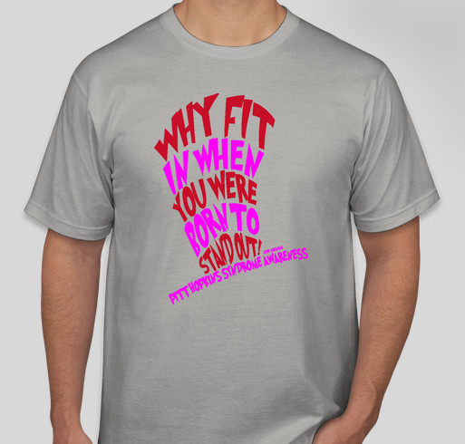 Pitt Hopkins Syndrome Awareness Day T-Shirt Fundraiser Fundraiser - unisex shirt design - front