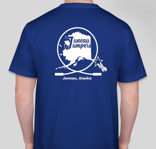 Juneau Jumpers, Inc. Fundraiser - unisex shirt design - back