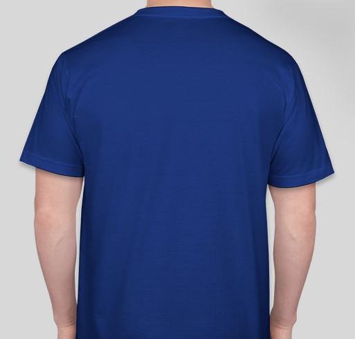We're Here Nonprofit Fundraiser - unisex shirt design - back