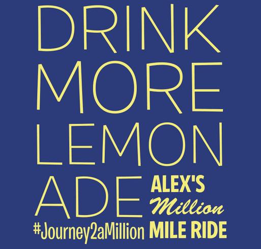Alex's Million Mile - Team Booster shirt design - zoomed