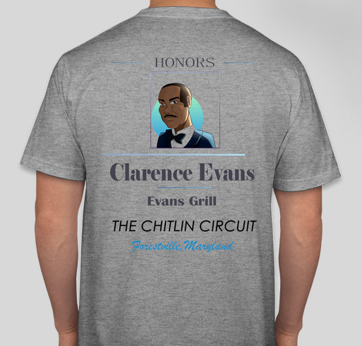 Evans Grill Center For Performing Arts and Culture Fundraiser - unisex shirt design - back