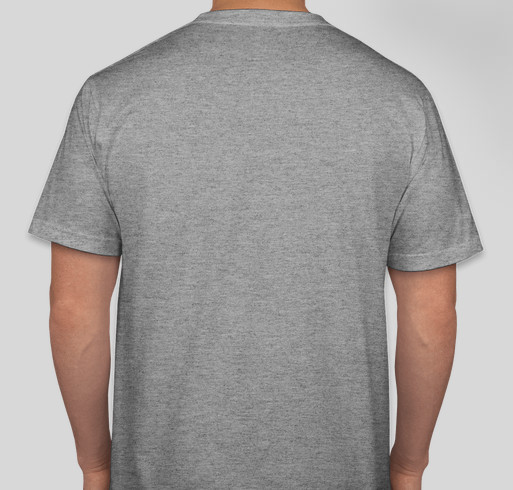 2 Traveling Dogs Fundraiser - unisex shirt design - back