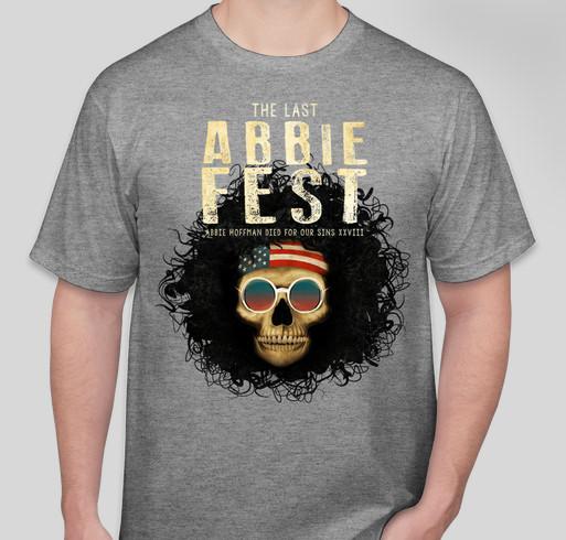Official Abbie Fest XXVIII T-shirt Fundraiser - unisex shirt design - front