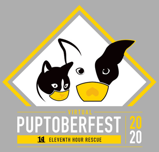 EHR's Virtual Puptoberfest 2020 shirt design - zoomed