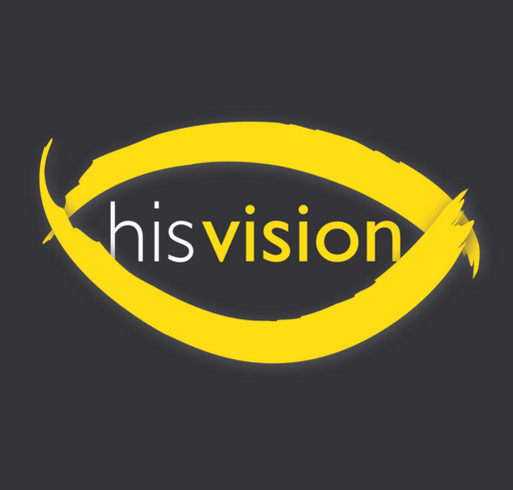 Fight poverty through eye care with the HIS Vision Project! shirt design - zoomed