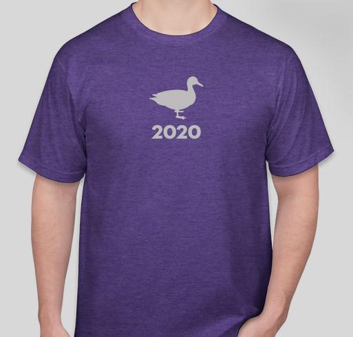Duck 2020, new shirt design! Fundraiser - unisex shirt design - front