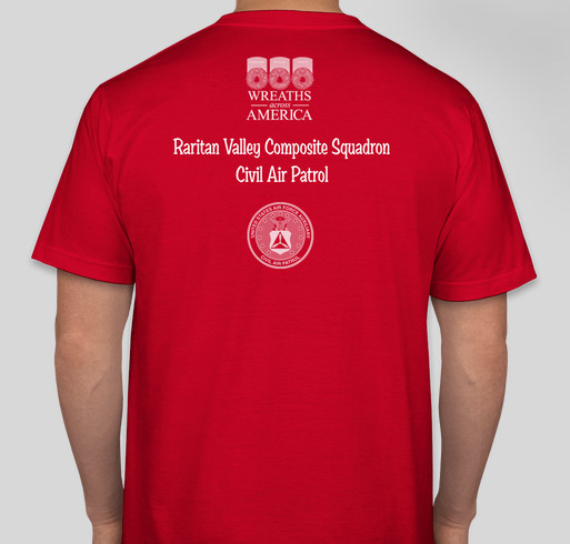 RVCS - Wreaths Across America Fundraiser - unisex shirt design - back