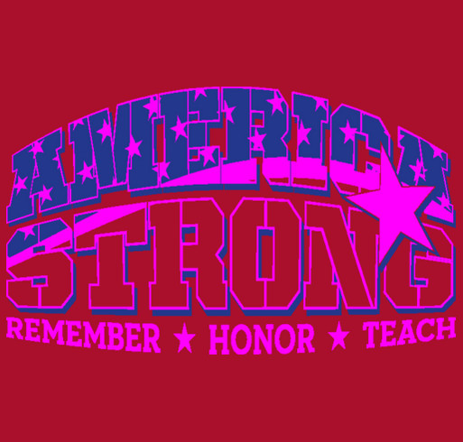 America Strong by Wreaths Across America shirt design - zoomed