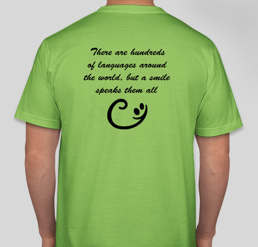 Pitt Hopkins Syndrome Awareness Day T-Shirt Fundraiser Fundraiser - unisex shirt design - back
