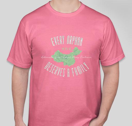 Mullis family adoption agape t shirt custom ink fundraising for Adoption fundraiser t shirts