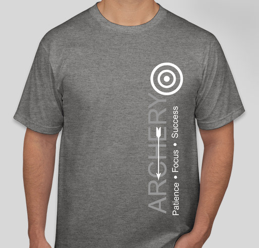 NMR Elite Archer Booster Fundraiser - unisex shirt design - front