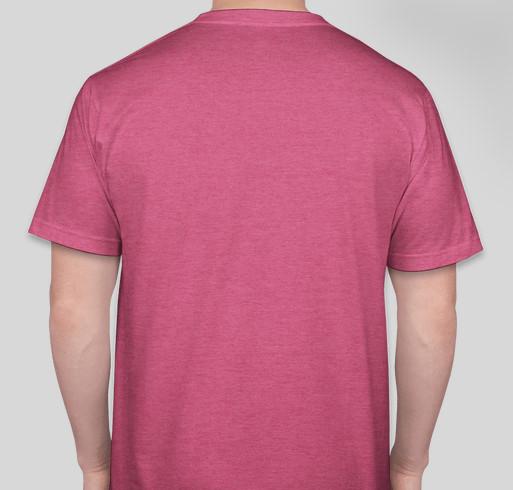 Duck 2020: Support brain injury survivors! Fundraiser - unisex shirt design - back