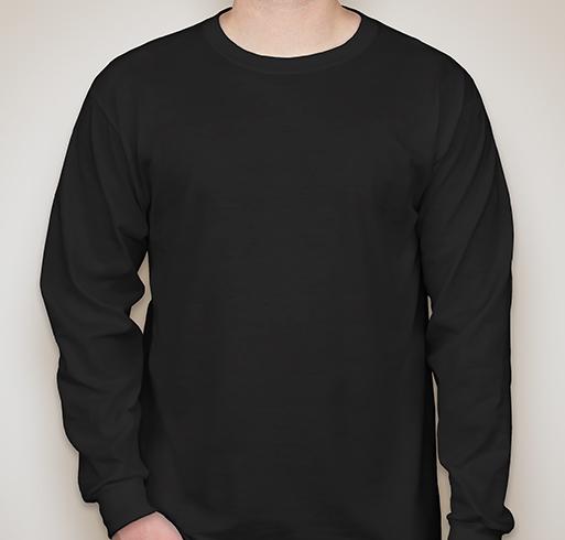 Jerzees 50/50 Long Sleeve T-shirt - Black