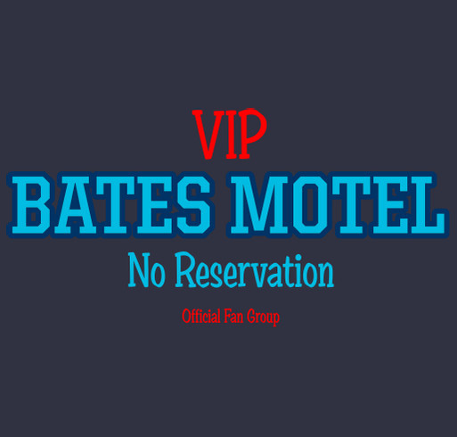 Bates motel no reservation members fans custom ink for Reservation motel