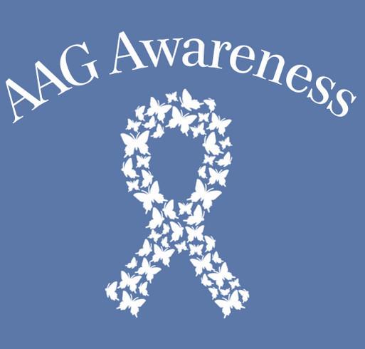 Dysautonomia Awareness Month: Toris Team shirt design - zoomed