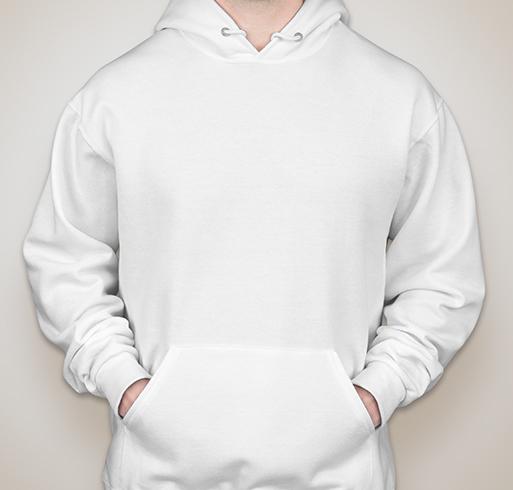 Jerzees Nublend® 50/50 Hooded Sweatshirt - White