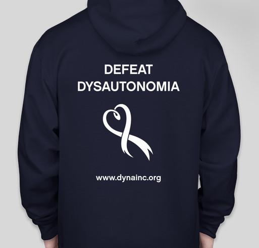 2016 Dysautonomia Awareness Month Fundraiser Fundraiser - unisex shirt design - back